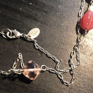 "Lia Sophia Jewelry - 52"" single strand Lia Sophia necklace"